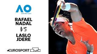 Rafael Nadal v Laslo Djere | Australian Open 2021 - Highlights | Tennis | Eurosport