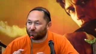 WANTED Timur Bekmambetov PRESS CONFERENCE Conferenza Stampa 3 (audio Eng)