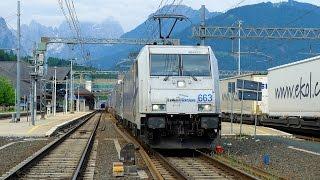 Führerstandsmitfahrt Tauernbahn Tarvisio - Villach - Salzburg…