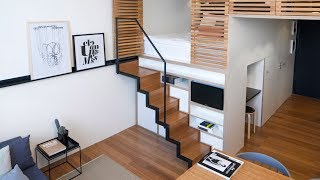 30 Modern Lofts (Small Spaces) Design Ideas
