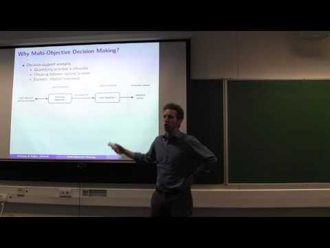 ICAPS 2016: Multi-Objective Planning under Uncertainty