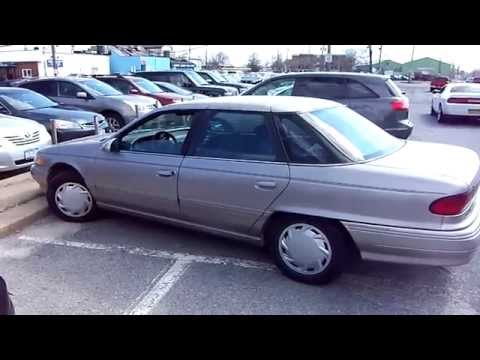Look At A 1994 Mercury Sable GS