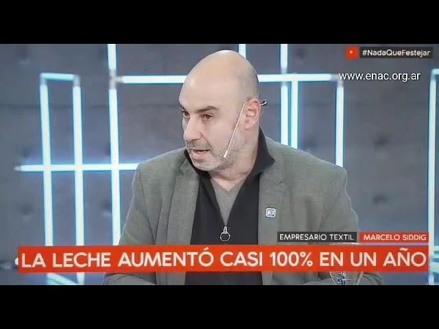 """""""Tenemos que evitar que cierren mas pymes"""" Marcelo Siddig en C5N"""