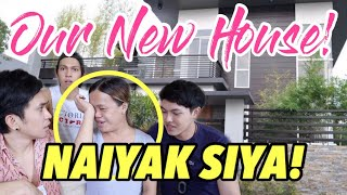 FINALLY! WE HAVE A NEW HOUSE! (ANG LAKI!)