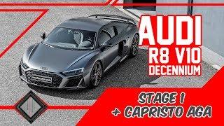 Audi R8 V10 Decennium | Chiptuning & Capristo Abgasanlage | Dyno - 100-200 km/h | mcchip-dkr