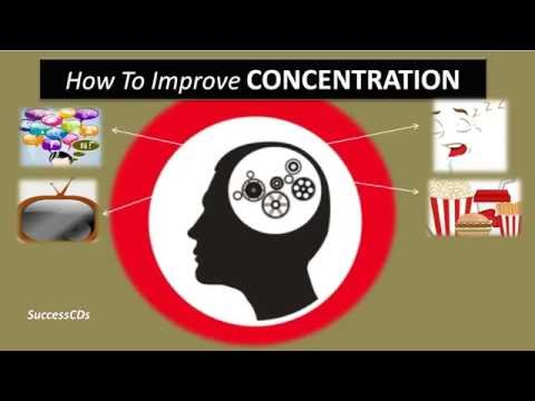 How to improve concentration for studying ?