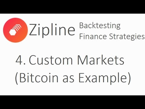 Trading Custom Markets (bitcoin example) - Zipline Tutorial finance with Python p.4