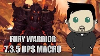 Fury Warrior Rotation and GSE Macros for 7 3 5