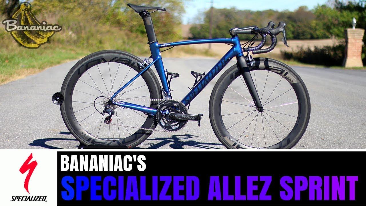 a34e5f9b058 Bananiac's Specialized Allez Sprint Chameleon Purple | Specs & Review
