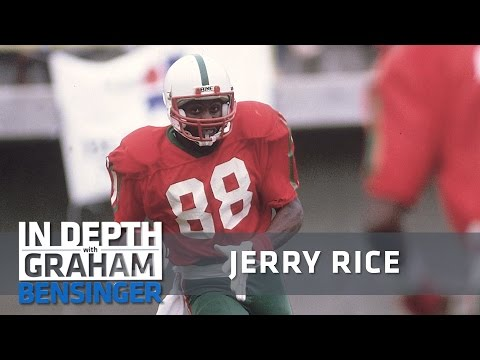 Jerry Rice: I was whipped and told to play football