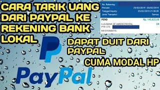 Gambar cover CARA MENARIK DOLAR DARI PAYPAL KE REKENING BANK