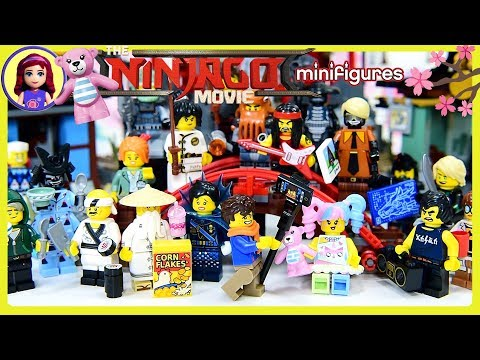 LEGO Ninjago Movie Minifigures Complete Set Temple of Airjitzu Friends Dress Up