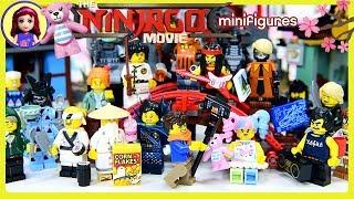 LEGO Ninjago Movie Minifigures Complete Set Temple of Airjitzu Friends Dress Up