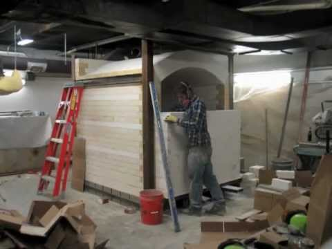 New Reduction Kiln: (short) time lapse photography