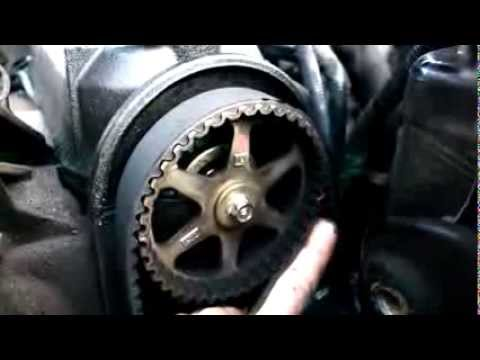 how to install timing belt honda accord 1992 youtube 95 accord engine diagram