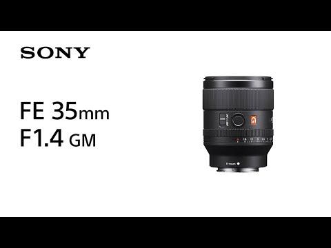 Introducing FE 35mm F1.4 GM   Sony   Lens