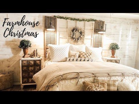 FARMHOUSE CHRISTMAS HOUSE TOUR | RUSTIC GLAM