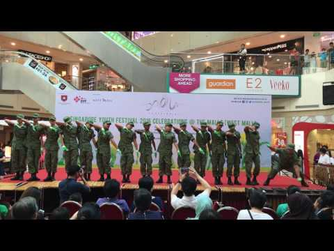 Kranji NCC Freestyle Drill at SYF 2016 Celebrations