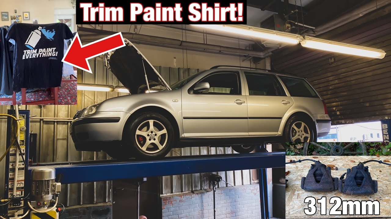 Bora Wagon Fails, Epic Care Package,  & Upgrading The VR6 Wagon Brakes!