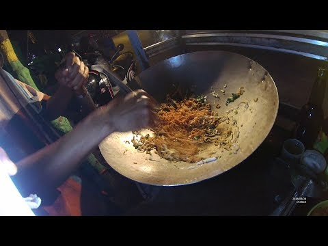 Indonesia Madura Street Food 3086 Part.1 Mie Goreng Vegetarian YDXJ0314