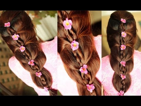 Hairstyle For School Easy Dailymotion : Easy and chic wedding prom party hairstyle for spring summer