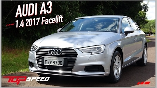 avaliao audi a3 1 4 2017 facelift   canal top speed