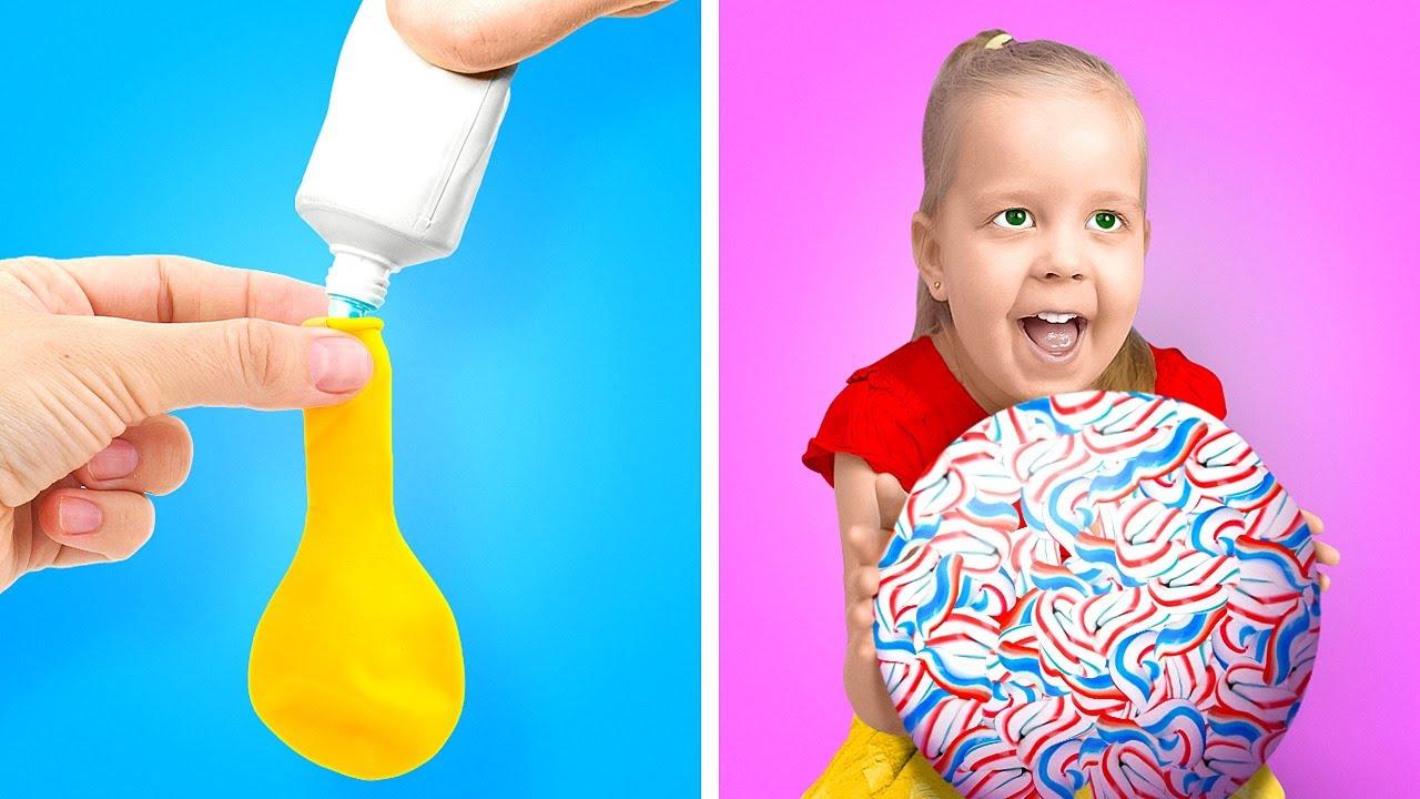OMG! Random Hacks That Will Surprise You! DIY Balloon Crafts, TitTok Tricks By A PLUS SCHOOL