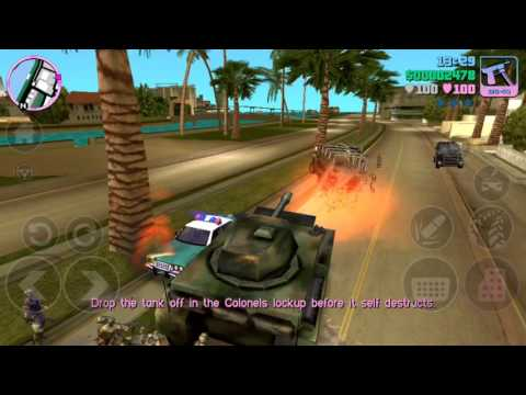 How To Get A Tank In GTA Vice City - The Easy Way