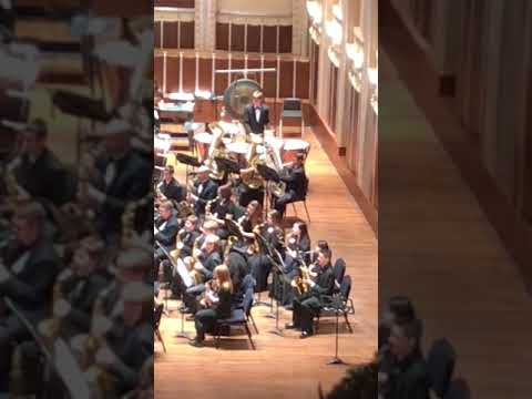 Hannah Wren in Cleveland Youth Wind Symphony part 2