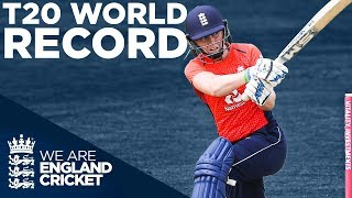 T20 WORLD RECORD Score! | England Women v South Africa T20 CLASSIC! | England v South Africa 2018