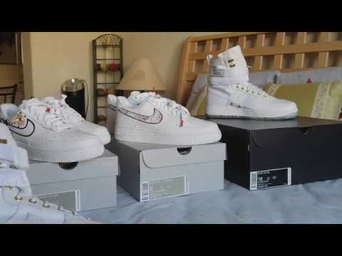 brand new 753d7 d25da Triple Review On Nike Air Force 1 AF1 Low x LNY Chinese Lunar New Year Shoes  Kicks Sneakers! 2 16 20