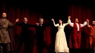 Simon Boccanegra, Vienna, February 28, 2013 - first curtain call after the performance