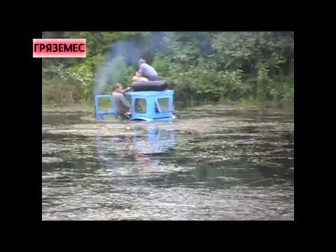 Т-150К против КрАЗа смотреть видео прикол - 1:02