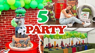 MILAN WIRD 5!!! MEGA NINJA TURTLES PARTY
