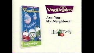 Closing to VeggieTales: Rack, Shack and Benny 1998 VHS