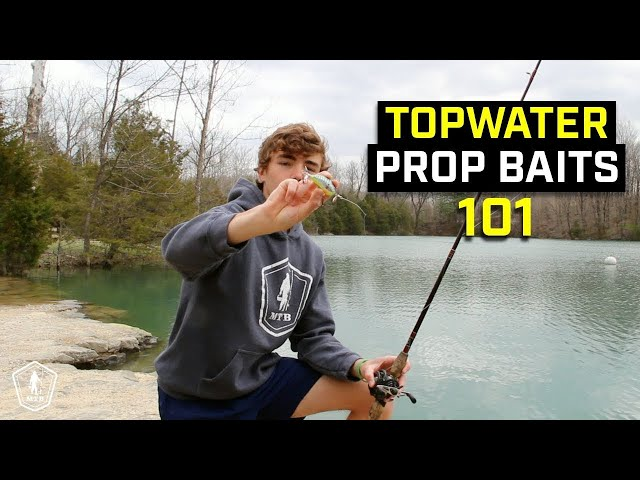 How To Fish A Prop Bait | Topwater Fishing Tips