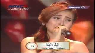 """Ayu Ting Ting """" Dil Laga Liya """" - Gerbang Kontes Dangdut Indonesia 2015 (9/4)"""