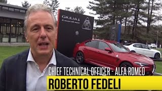 Gambar cover Alfa Romeo Giulia | Intervista a Roberto Fedeli, chief technical officer