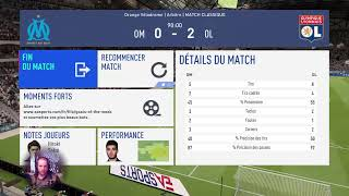 Gambar cover Fifa 19  PRONOSTIC OM-OL 36em journée LIGUE 1  (Je commente)