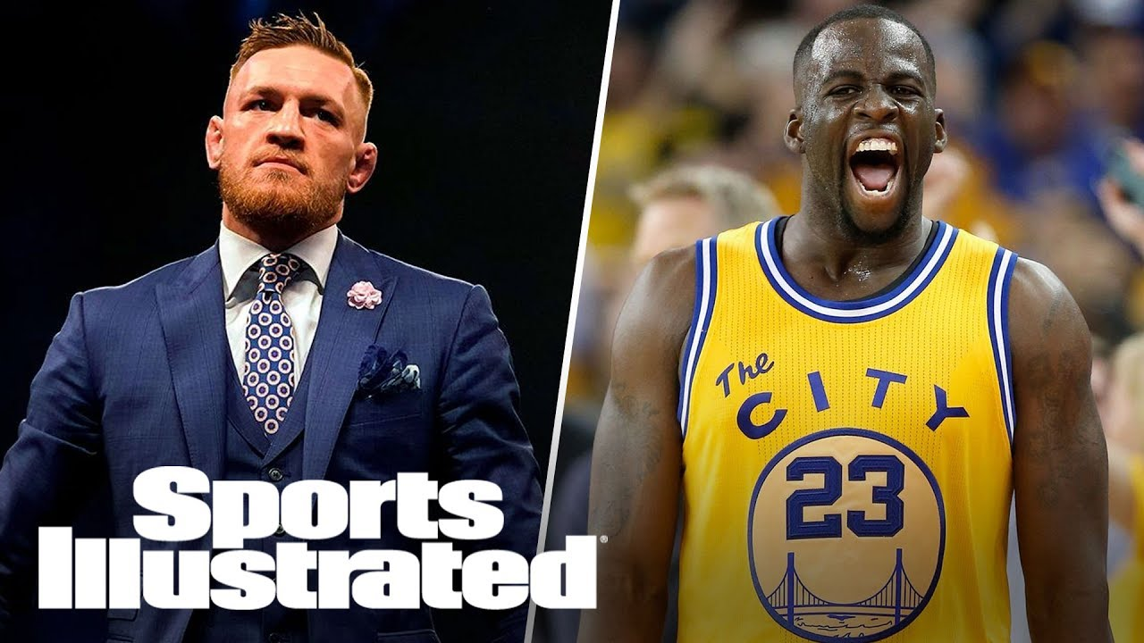 cheap for discount 789e0 0460d Did Conor McGregor's Trolling Of Warriors' Draymond Green Go Too Far?   SI  NOW   Sports Illustrated