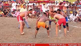 KANDOOR SAHIB VS SURSINGH CLUB| JAMARAI SHOW MATCH 2019