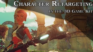 Character Retargeting in 3D Game kit