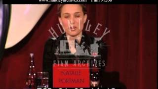 Natalie Portman speaks about shaving her head, 2006 - Film 91206