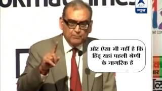 Katju takes dig at Narendra Modi, calls him anti-national