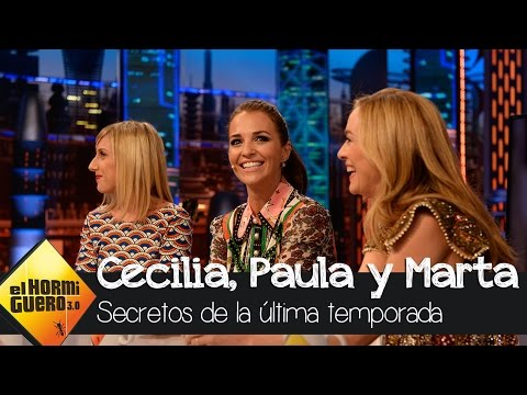 Paula Echevarría nos cuenta cómo aparece Alberto Márquez en la última temporada - El Hormiguero 3.0 thumbnail