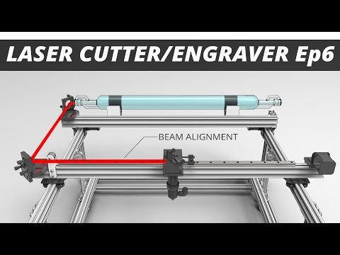 Ep6: Laser Beam Alignment. The DIY CO2 Laser Cutter / Engraver Build Series