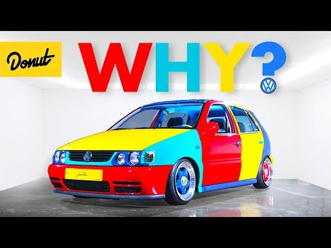VW Harlequin: The Story Behind The RARE Rainbow Volkswagen   Bumper 2 Bumper