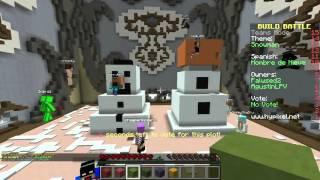 #BuildBattle - Hombre de nieve / ¡¡El muñeco ganador!! (Con Willyrex)