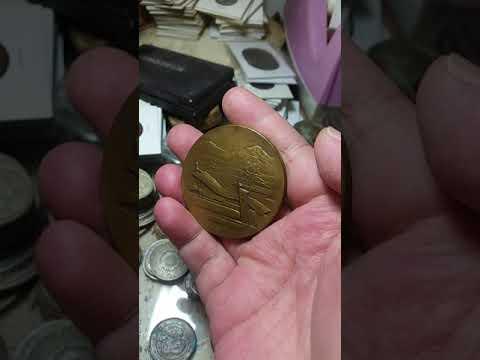 (勳章獎章)F42 昭和十年大楠公六百年祭紀念銅章
