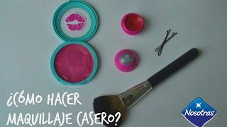 Video ¿Cómo hacer maquillaje casero? Nanny by Nosotras download MP3, 3GP, MP4, WEBM, AVI, FLV September 2017